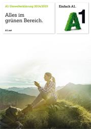 A1 Umwelterklärung 2014/15