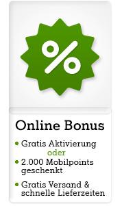 2.000 Mobilpoints bei MyNext-Bestellung oder Aktivierungsentgelt geschenkt bei Neuanmeldung