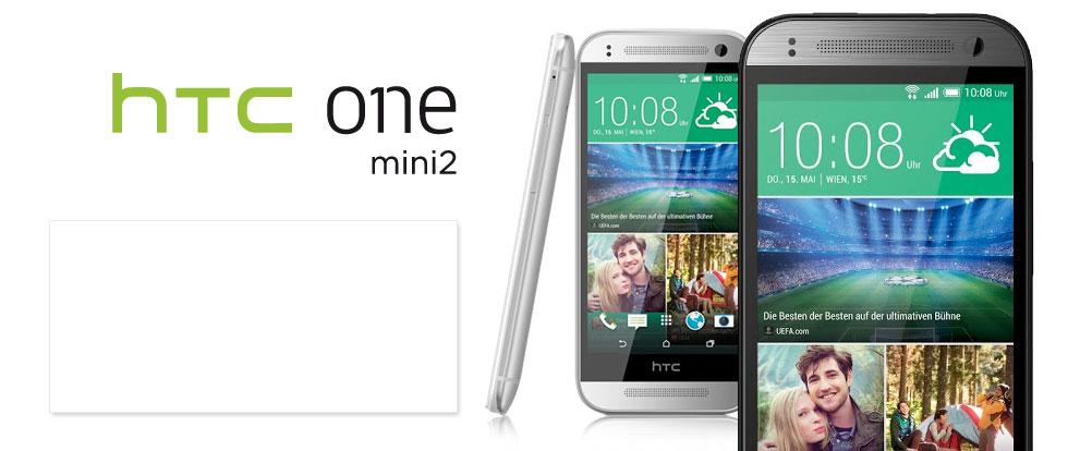 HTC One M8 mini - Bald bei A1 in Schwarz & Weiß