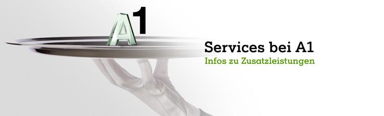 Services bei A1
