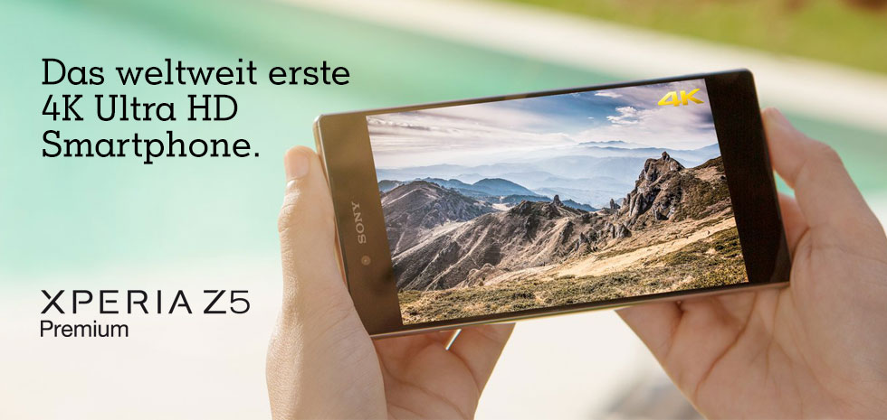Neu bei A1: Das Sony Xperia Z5 Premium
